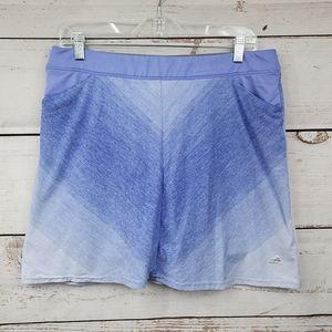 Adidas purple ombre Athletic tennis skort
